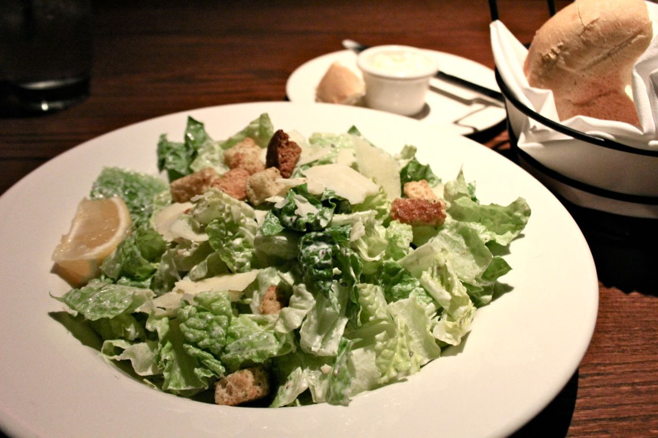 Caesar salad at The Keg