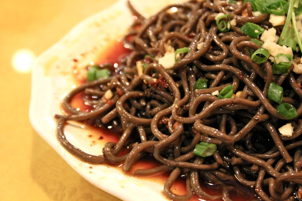 fern root noodles