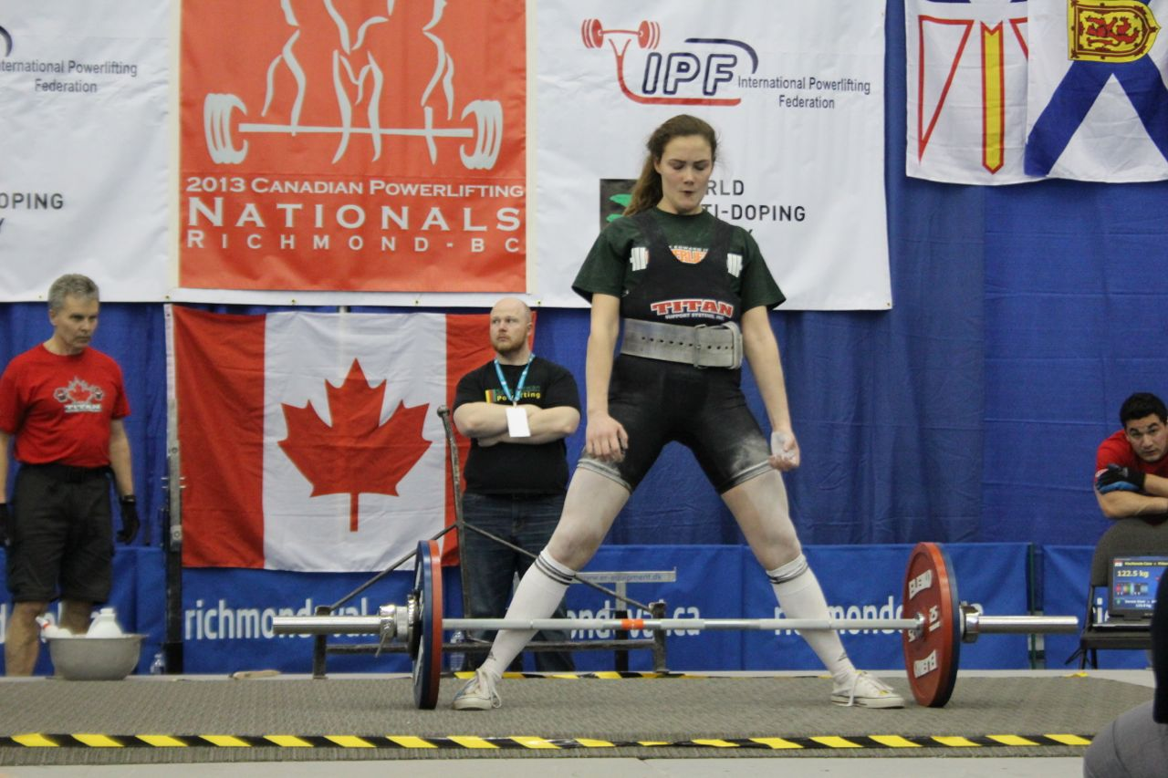 Canadian Powerlifting at The Richmond Oval