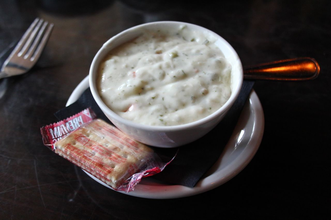 Steveston seafood chowder