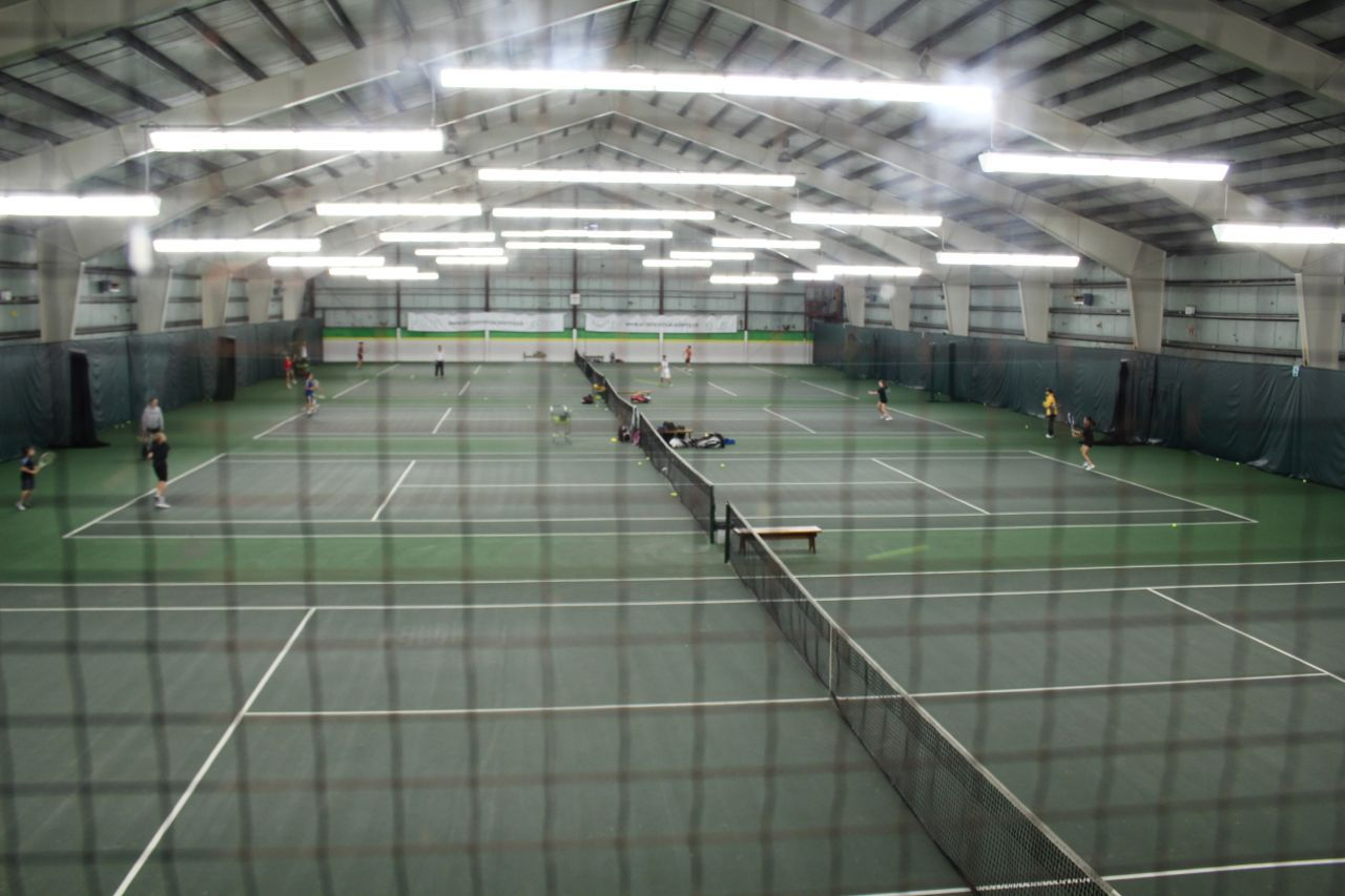tennis courts at Sportstown