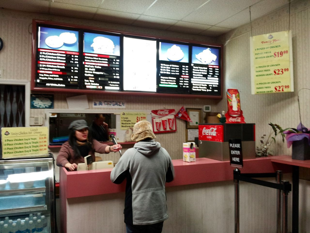 LA Chicken interior