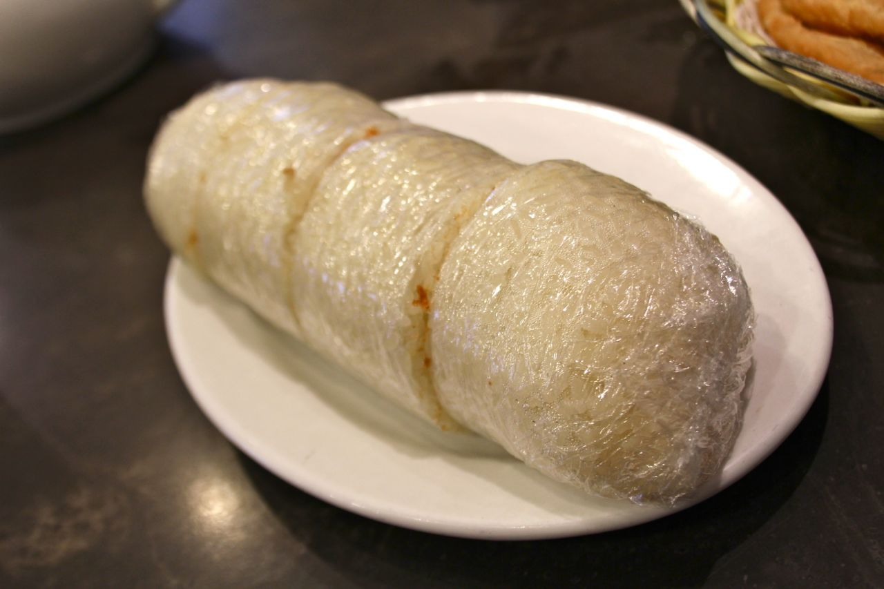 sticky rice roll
