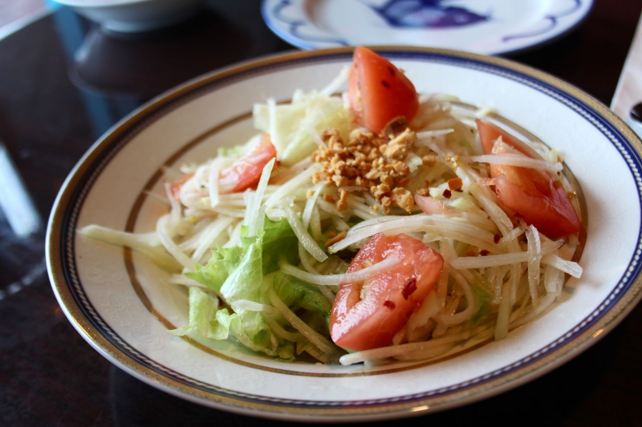 Thai Papaya Salad from Thai Kitchen