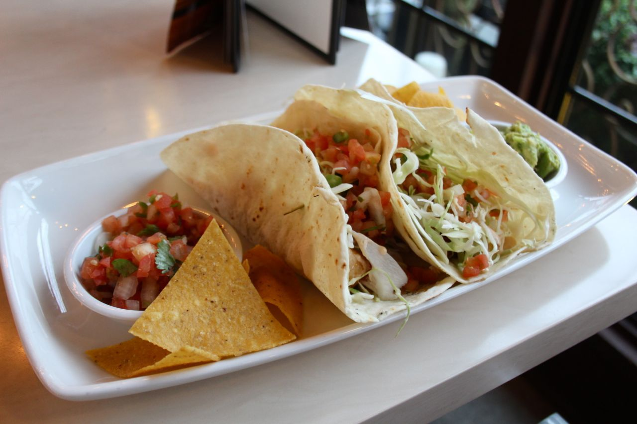 fish tacos from Cactus Club