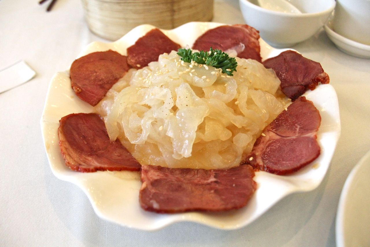 jellyfish with beef shank