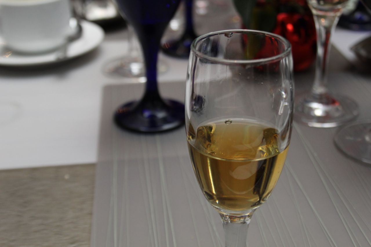 ice wine at from Mission Hill at Fairmont YVR