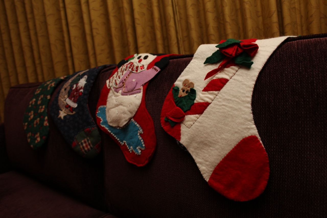 stockings at Fairmont YVR