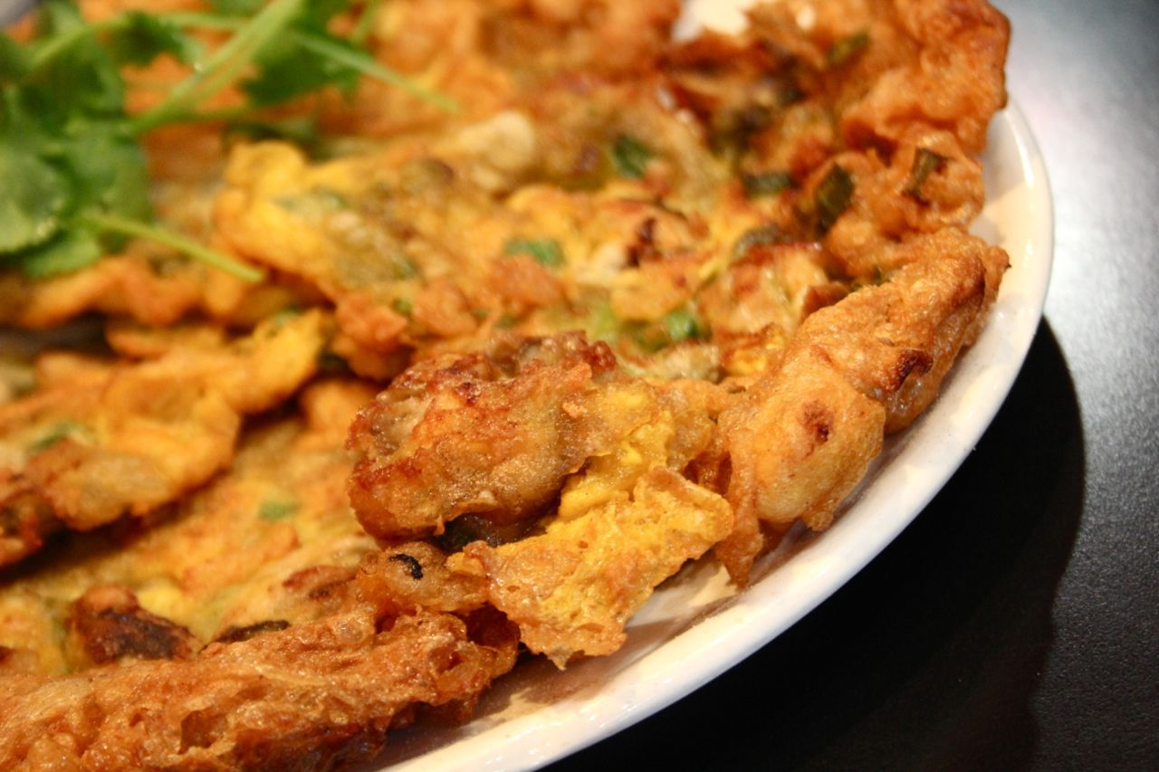 deep-fried oyster pancake