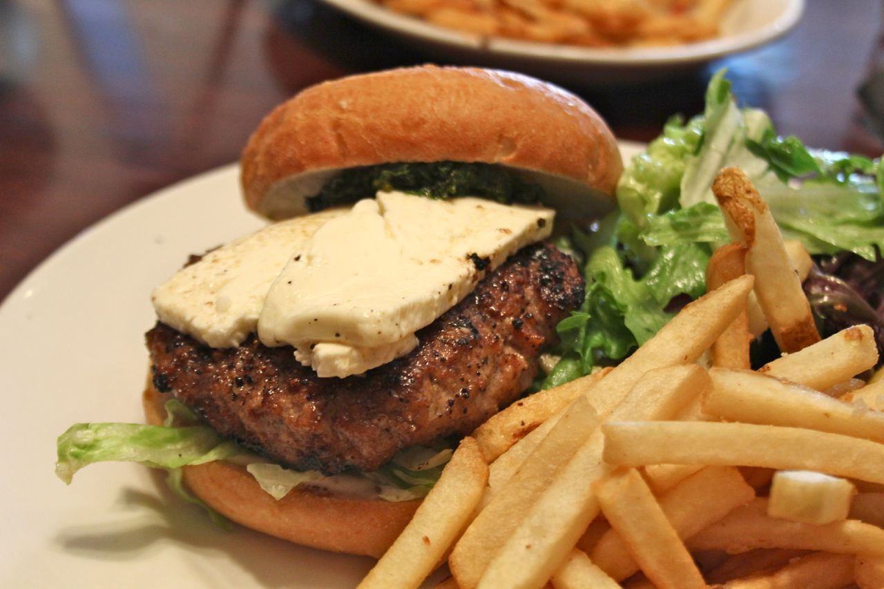 2 Chefs and a Table lamb burger