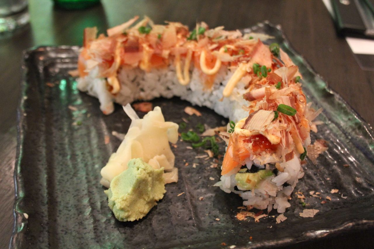 B.C. Blazer roll at Ebisu Japanese Restaurant