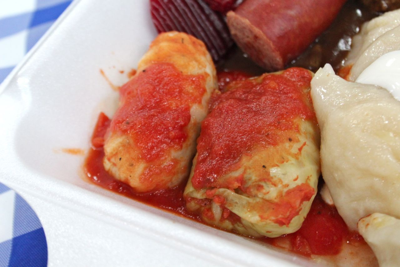 homemade cabbage rolls