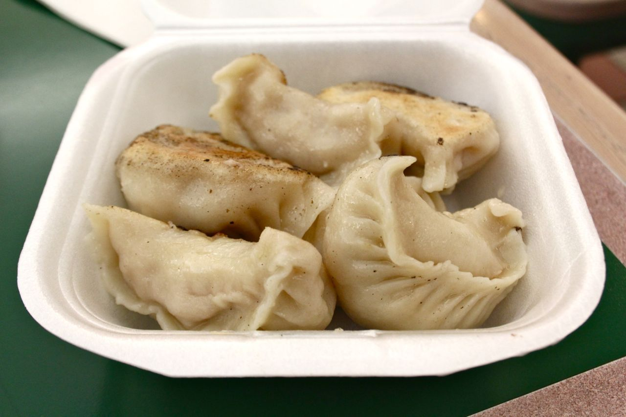 pork dumplings from R&H Chinese Food