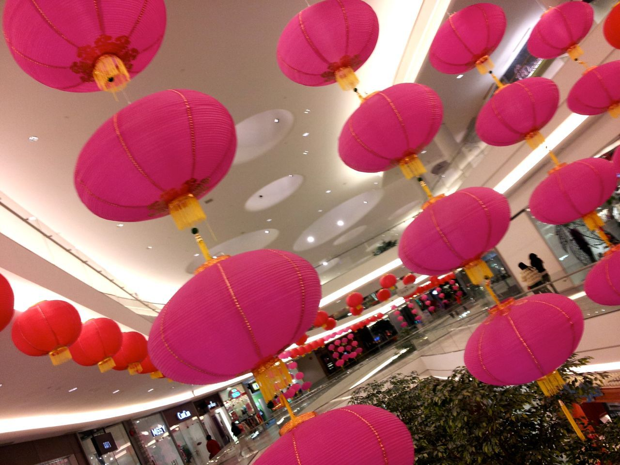 Chinese lanterns at Aberdeen Center