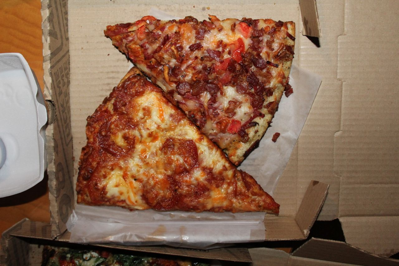 pizza from Flying Wedge