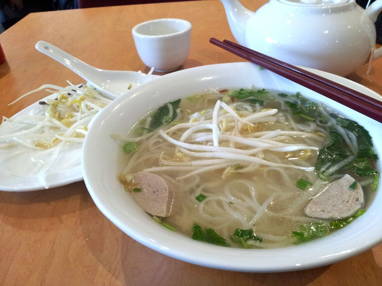 free-range chicken pho