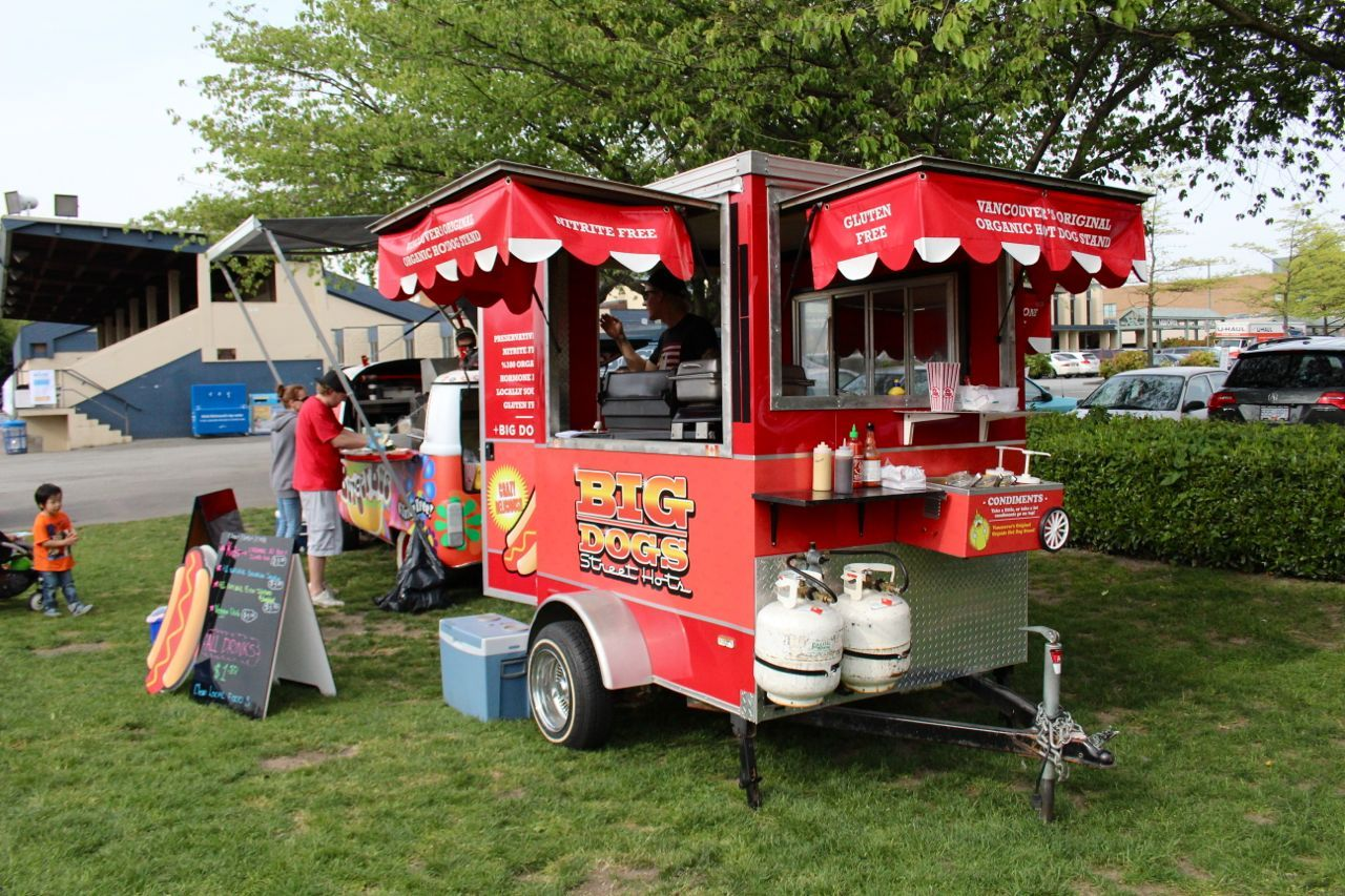 Big Dogs Hot Dog stand