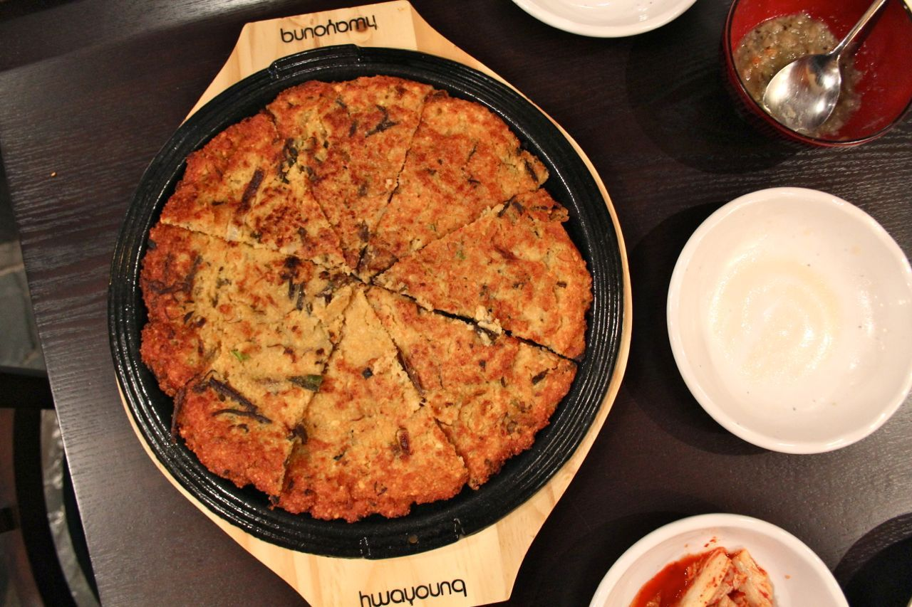 Mung bean pancake; Photo Credit: Lindsay Anderson