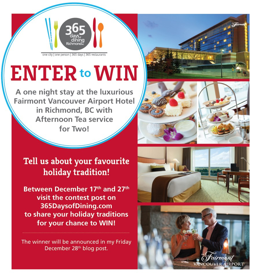 365 days of Dining Contest. Enter to Win!