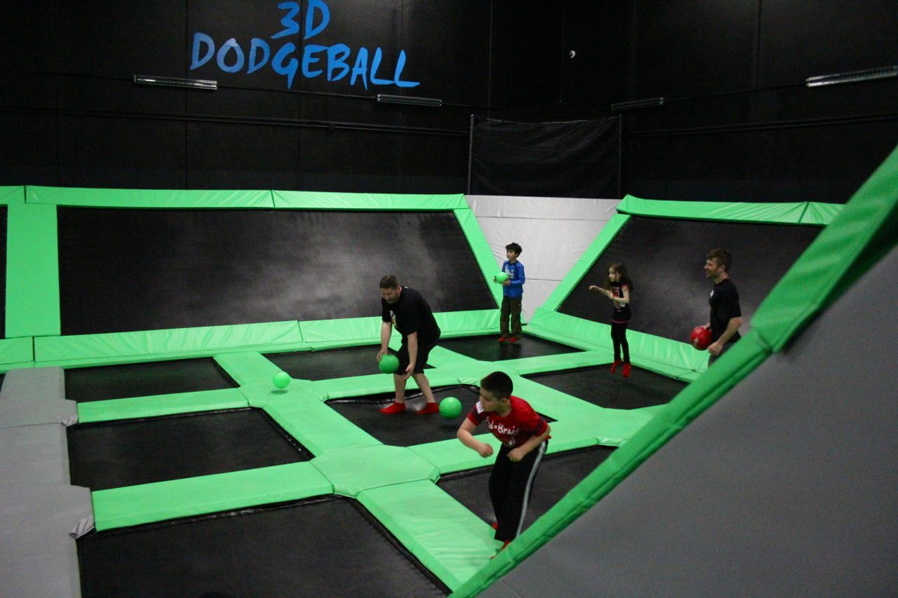 Extreme Airpark Richmond dodgeball