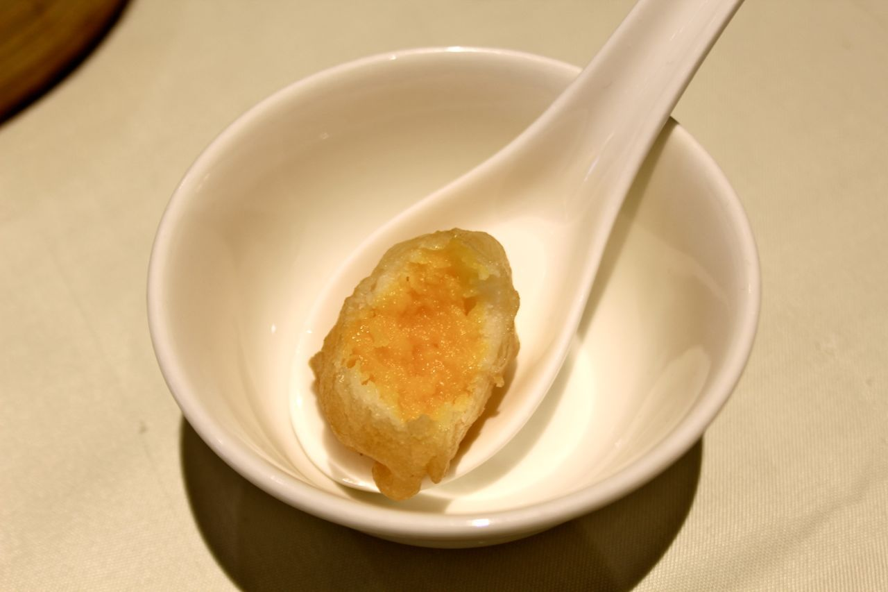 deep-fried mango milk
