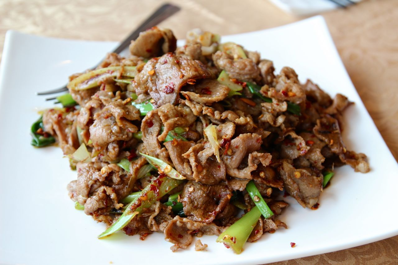 Wang Shun Ge lamb with cumin
