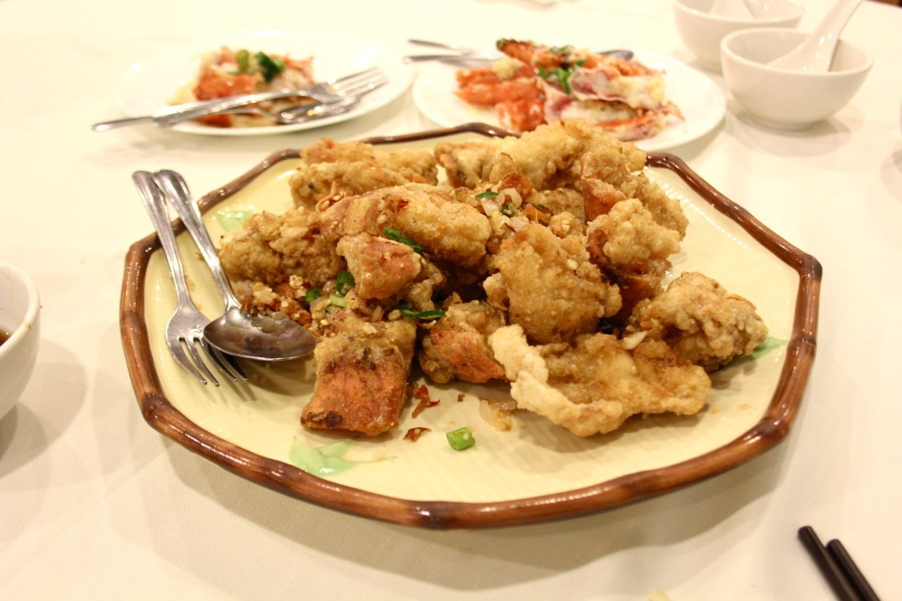 deep-fried Alaskan King Crab