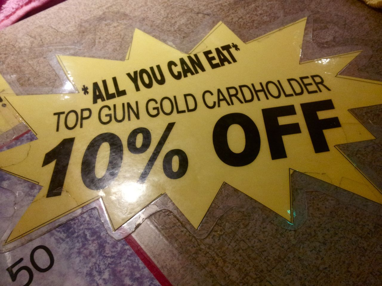 Top Gun discount card