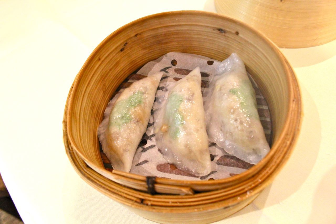 Steamed dumplings at Golden Paramount Restaurant