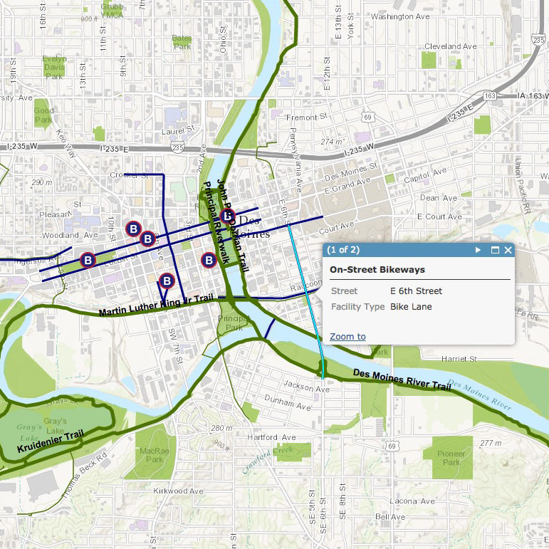 central iowa bike trails map Best Des Moines Trails For Biking Hiking Running Walking central iowa bike trails map