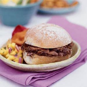 Spicey Pulled Pork Sandwich