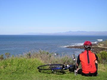 Biking the Scenic Coast in Ragged Point California