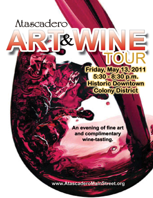 Atascadero Art & Wine Tour 051311