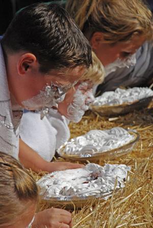 Atascadero Colony Days - pie eating