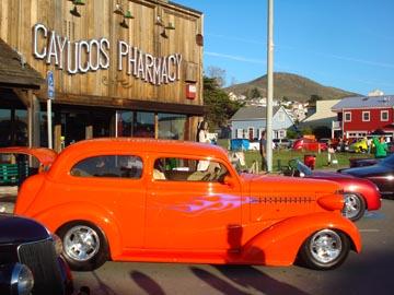 Classic Car in Cayucos CA