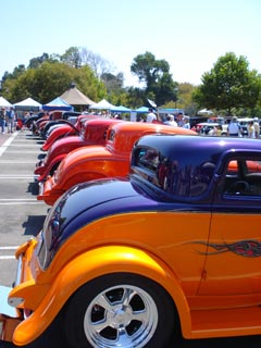 Arroyo Grande Car Sho- Rumble Seats