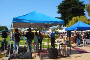 Grover Beach Farmers Market and Band