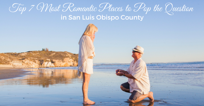 Most Romantic Places to Pop the Question