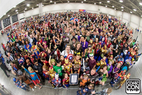 Comic Con World Record