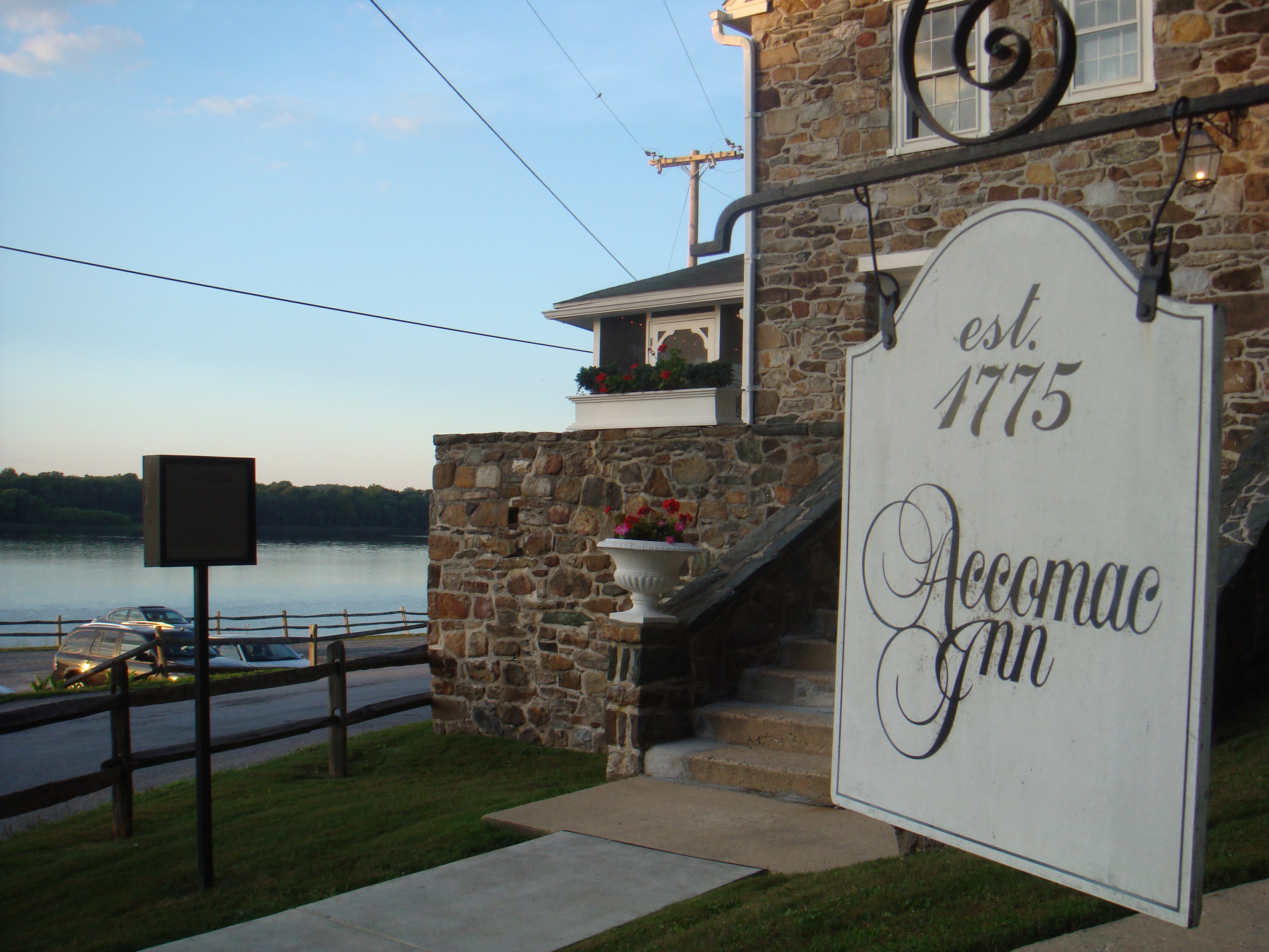 You'll enjoy some of the finest cuisine in York County -- and maybe run into a ghost -- at The Accomac Inn.