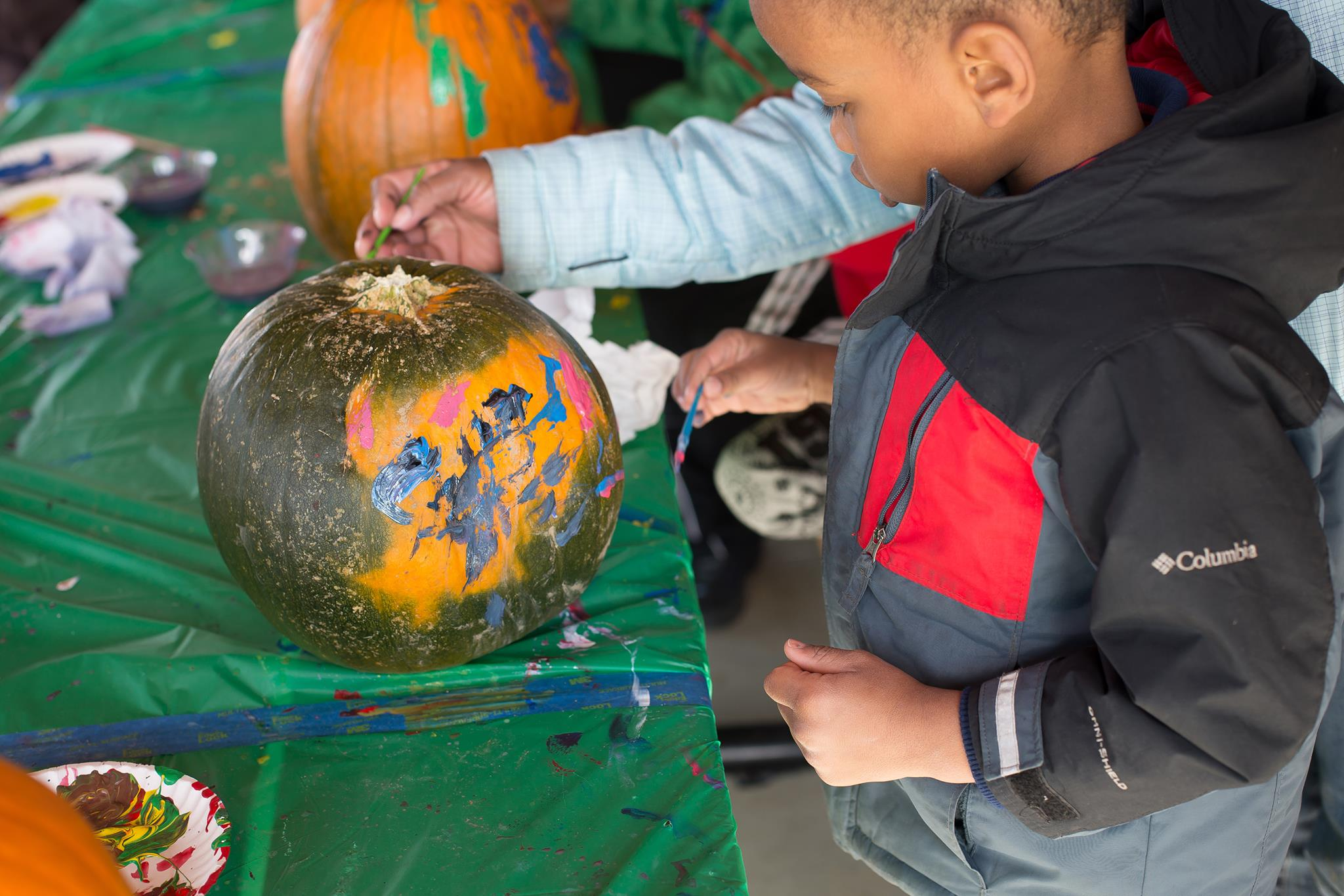The kids will love spending the day at this fall festival.