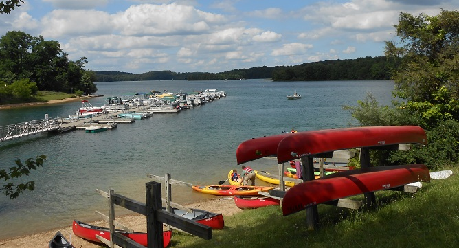 Visitors will find pontoons, fishing boats, motorboats, kayaks and more for rent at Codorus State Park.