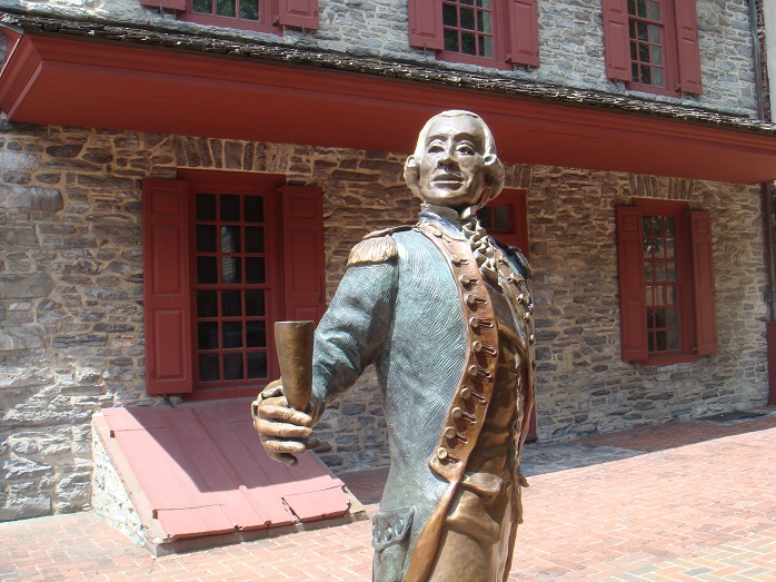 As the story goes, a toast from Marquis de Lafayette might have saved the beleaguered General George Washington.