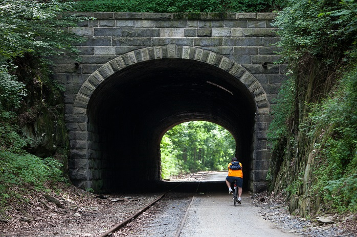 The York County Heritage Rail Trail, shown above, will likely be packed with bikers, hikers and joggers during this latest burst of spring-like weather. Take advantage of it and get outside!