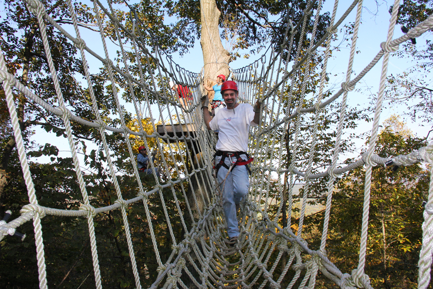 Roundtop Mountain Resort offers up plenty of challenges for adventurers.