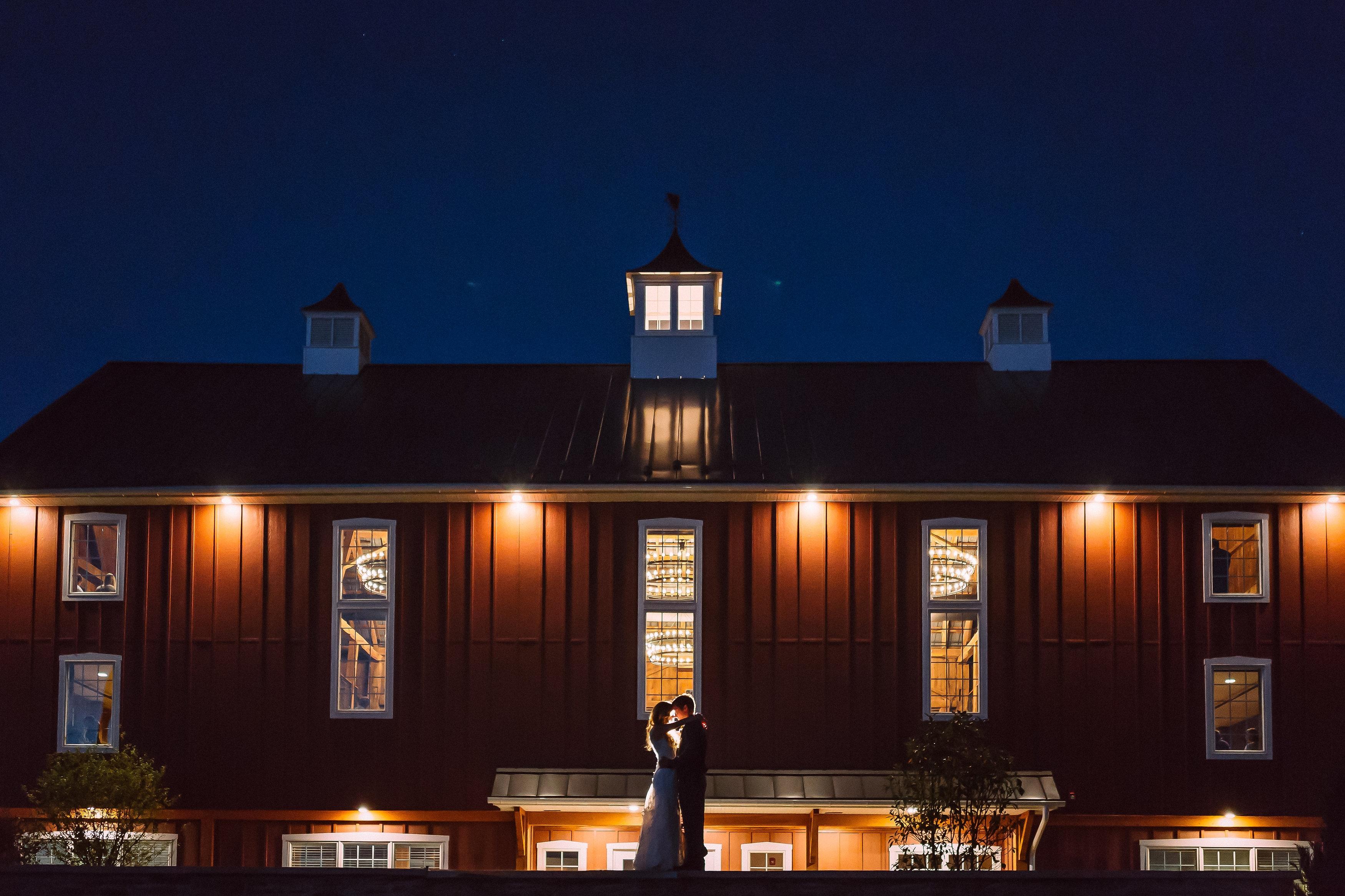 Wyndridge Farm is just one option for couples seeking rustic elegance for their wedding.