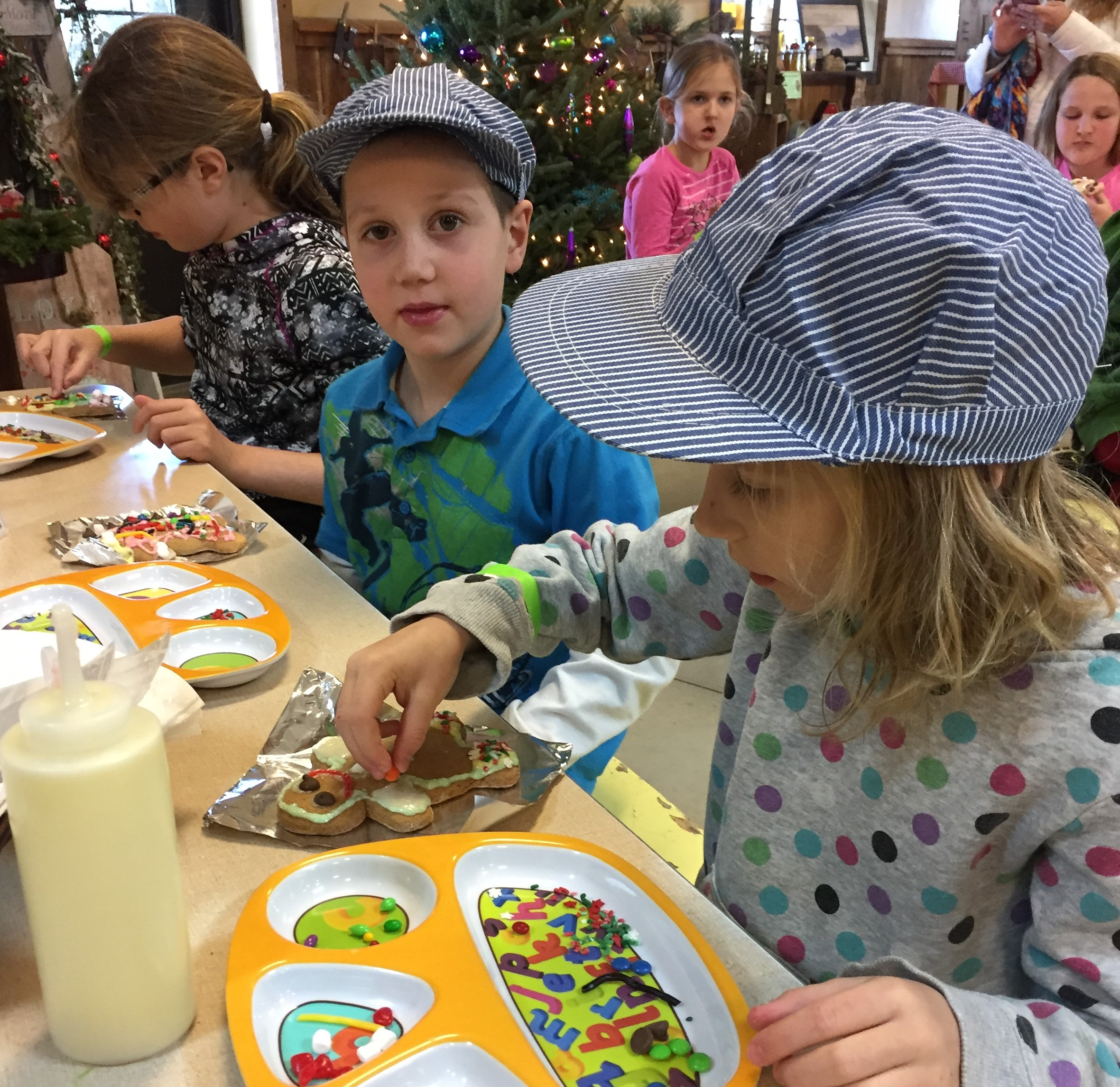 Santa's not the only one who gets to enjoy cookies at Flinchbaugh's Orchard and Farm Market.