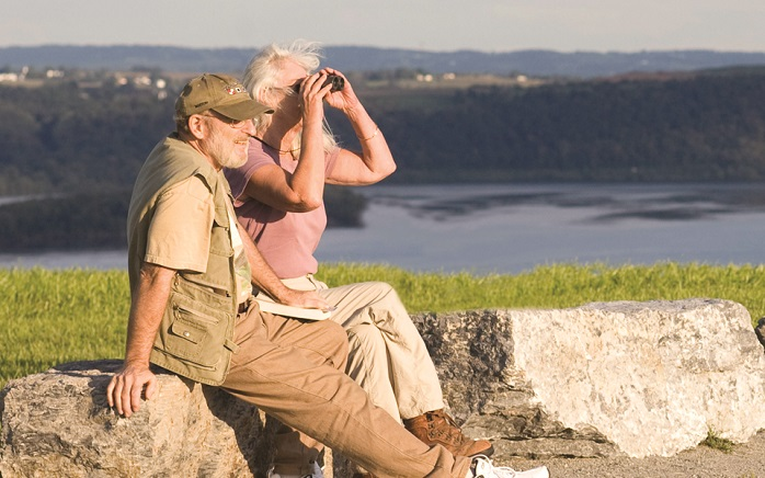 Bring your binoculars to take advantage of the views around Highpoint.