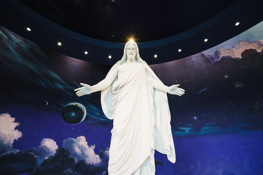 The Christus at Temple Square