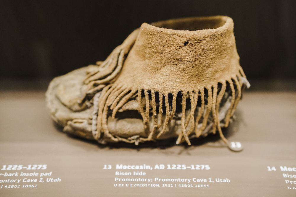 Bison-Hide Moccasin